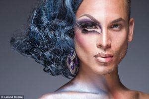 Half drag Makeup