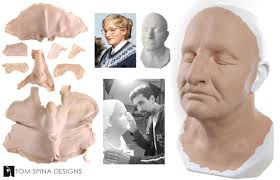 Robin Williams Mrs Doubtfire prosthetics