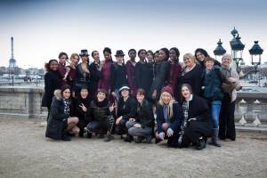 Paris Fashion Week Team Carlotta Cassandra Mayers
