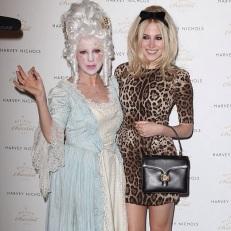 Wendy Morgan & Pixie Lott Katrina Stamp Makeup Artist