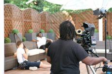 Redskin Media Ltd filming #TenFeetHigh